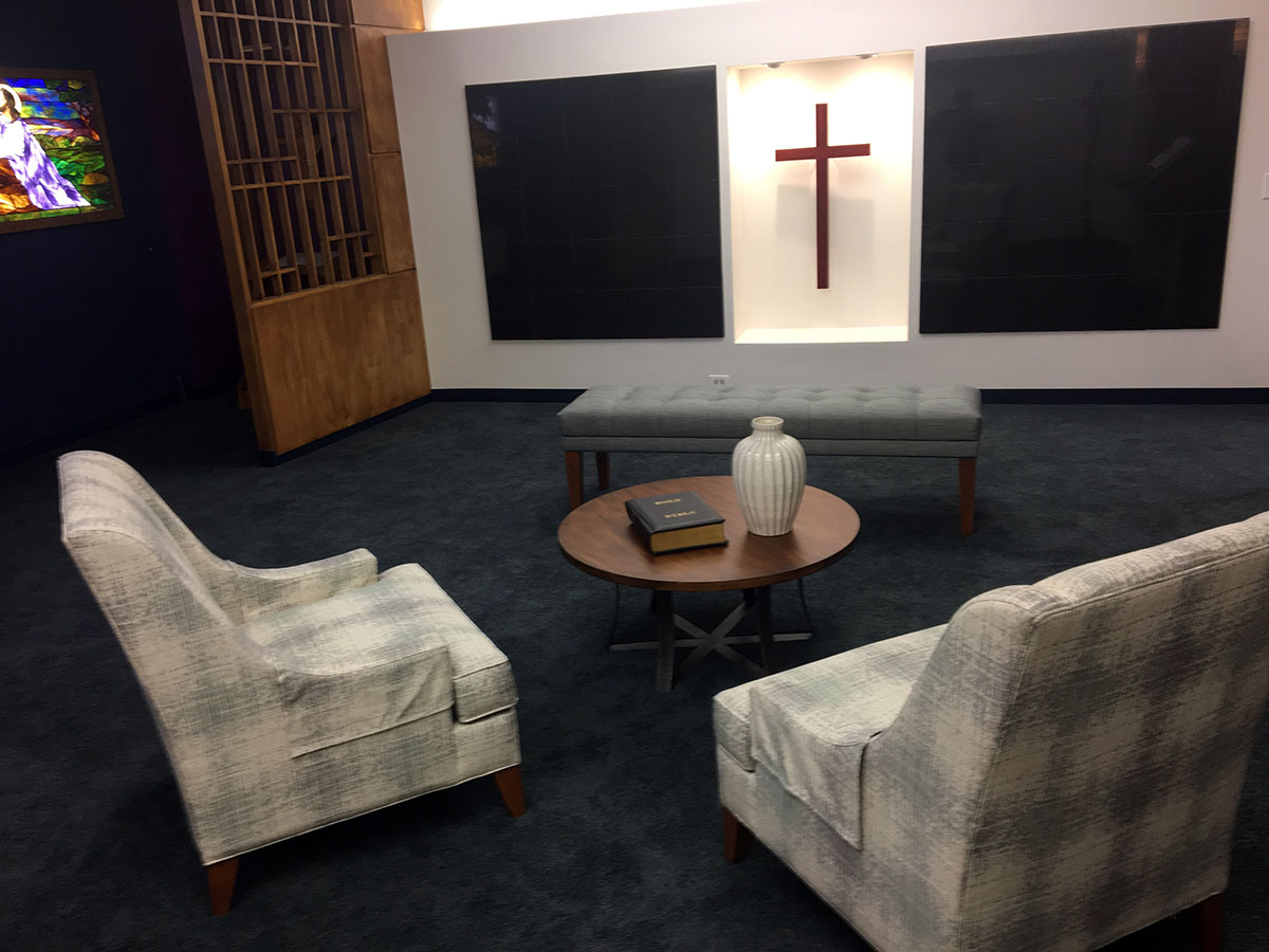 Timeless Installs Two New Cambrian Black Granite Columbarium Cabinets for Trinity Lutheran Church