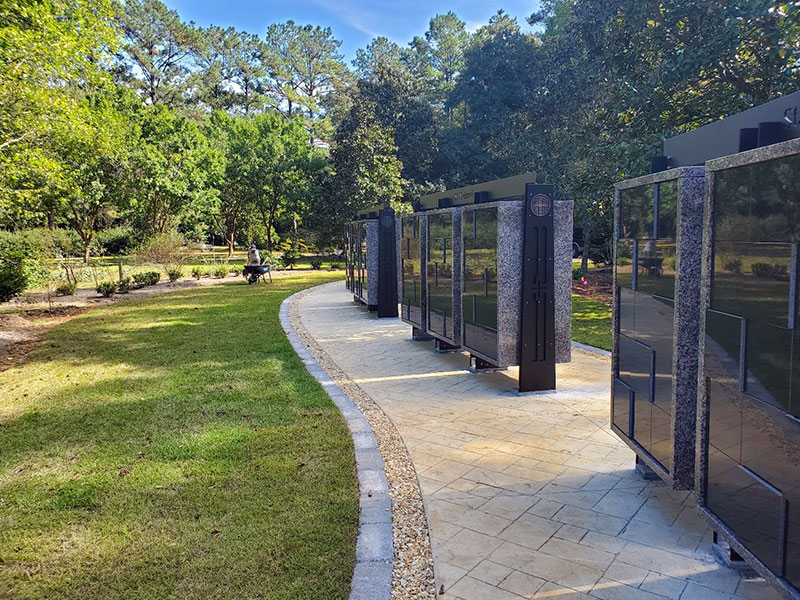 Saint Joseph Abbey Columbarium Garden Walkway